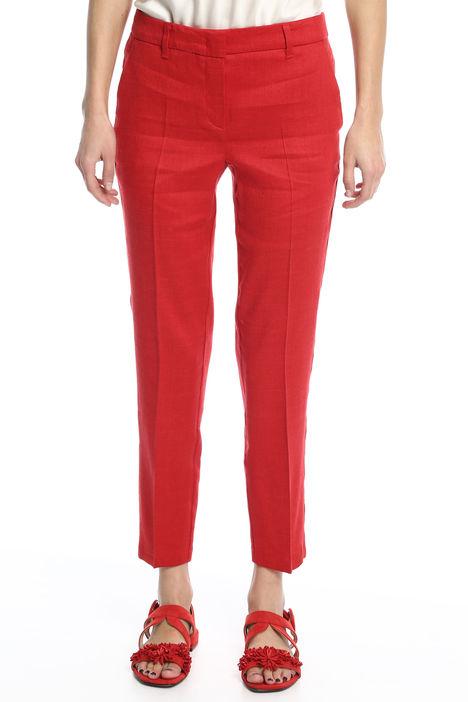 Pantalone in lino e viscosa Intrend