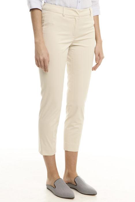 Pantalone in gabardina stretch Intrend
