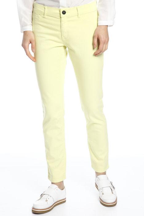 Pantaloni in drill di cotone Intrend