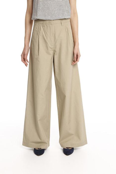 Pantaloni palazzo misto lino Intrend