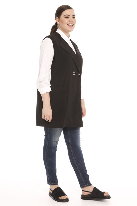 Gilet in tessuto fluido Intrend