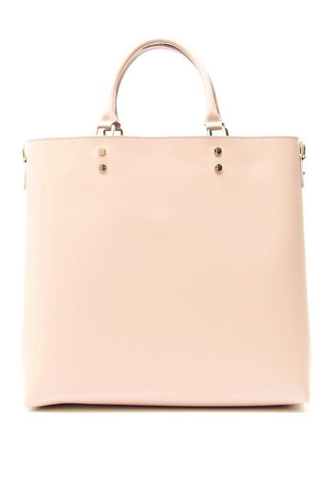 Shopping bag in pelle liscia Intrend