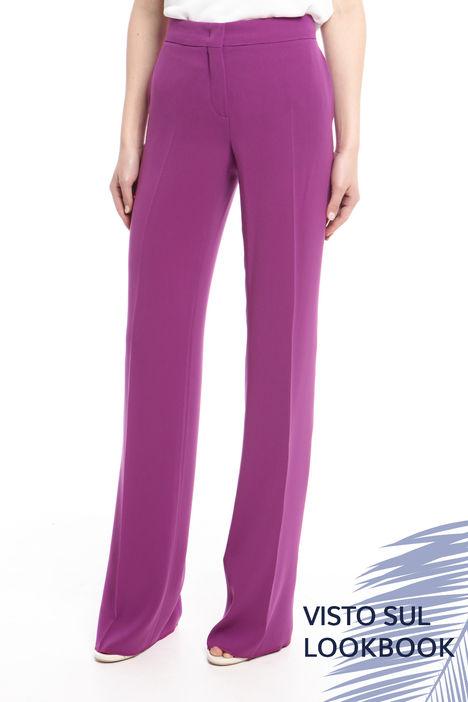 Pantalone in cady leggero Intrend