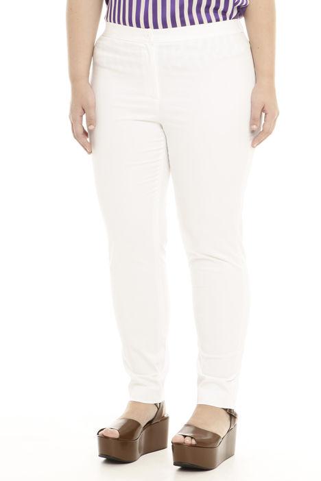 Pantalone leggings fit in raso stretch Intrend