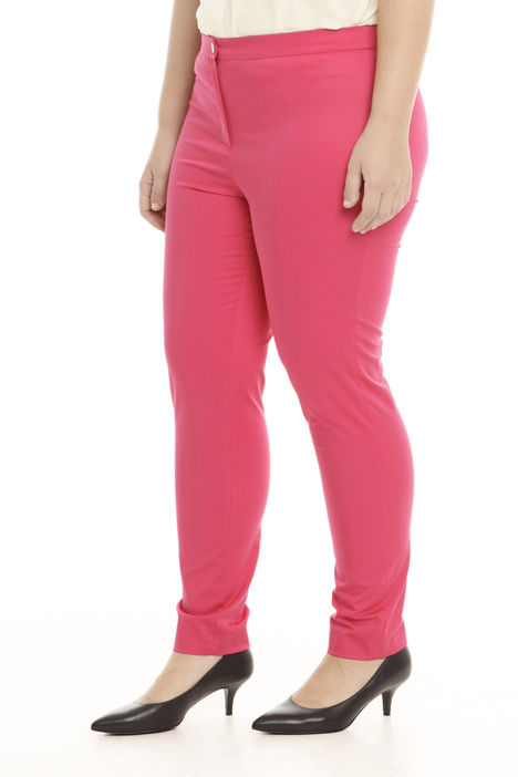 Pantalone leggings fit in raso stretch Intrend