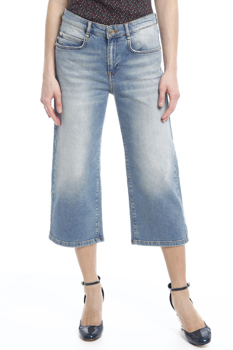 Pantaloni svasati in denim Intrend