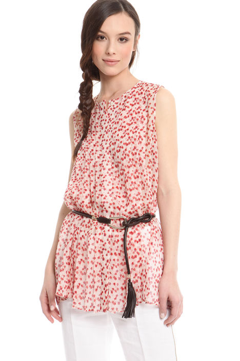 Top in georgette floreale Intrend