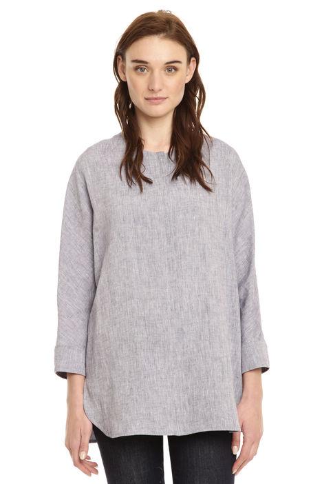Camicia oversize in puro lino Intrend
