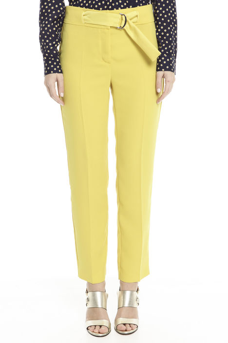 Pantalone fluido in crepe Intrend
