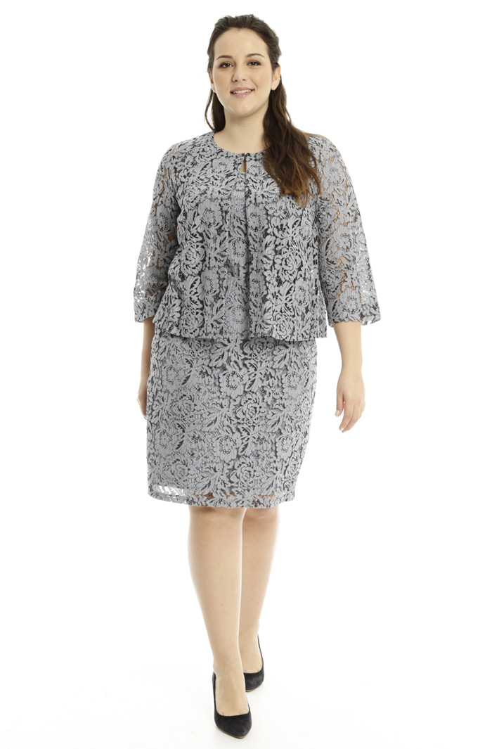 Boxy-fit lace jacket Intrend