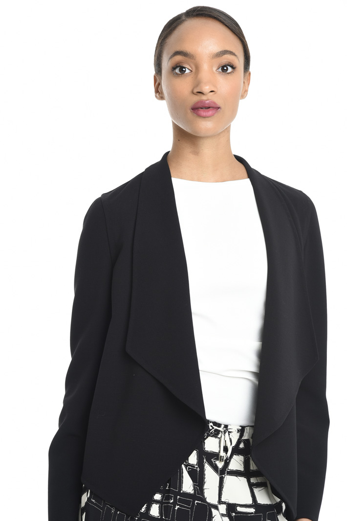 Wide lapel jacket Intrend
