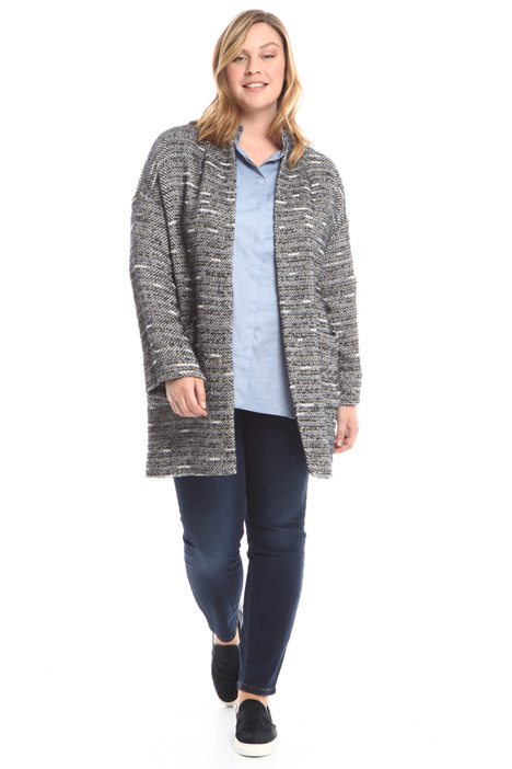 Knit-effect jacket Intrend