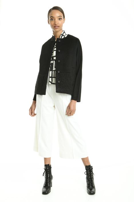 Sable-like drap jacket Intrend