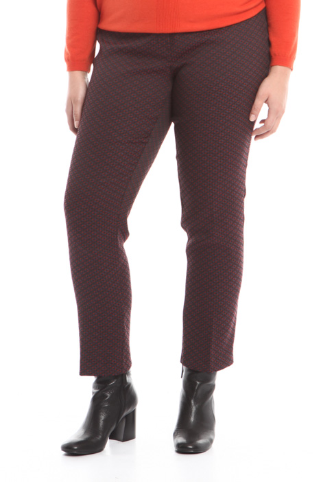 Pantalone in jacquard stretch Intrend