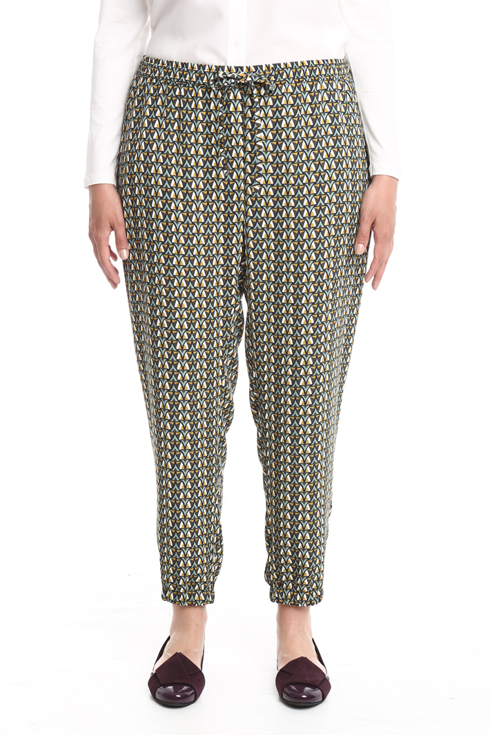 Pantalone jogging in cady Intrend