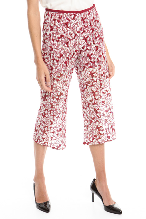 Pantalone in pizzo ricamato Intrend