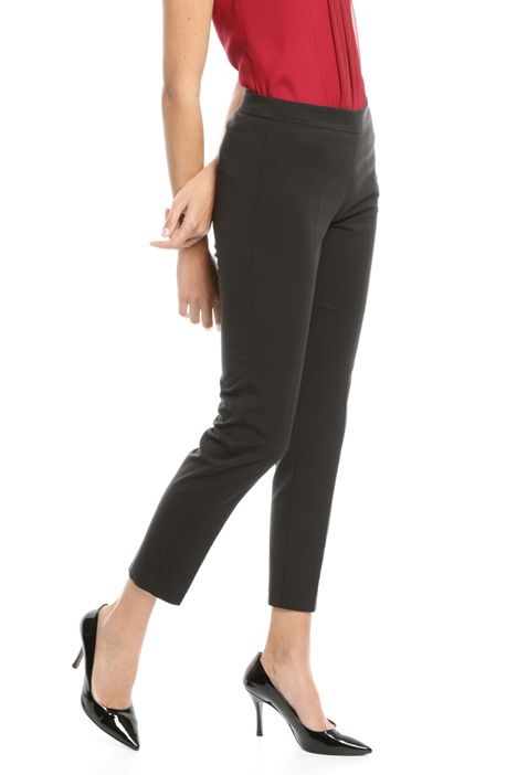 Pantaloni in faille stretch Intrend