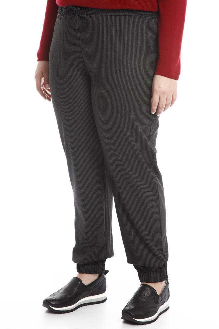Pantalone jogging in flanella Intrend