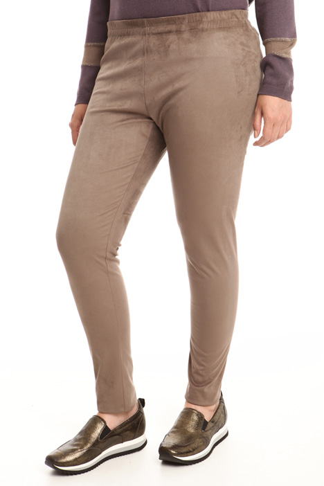 Suede effect leggings Intrend