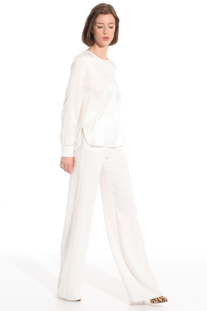 High rise palazzo trousers Intrend