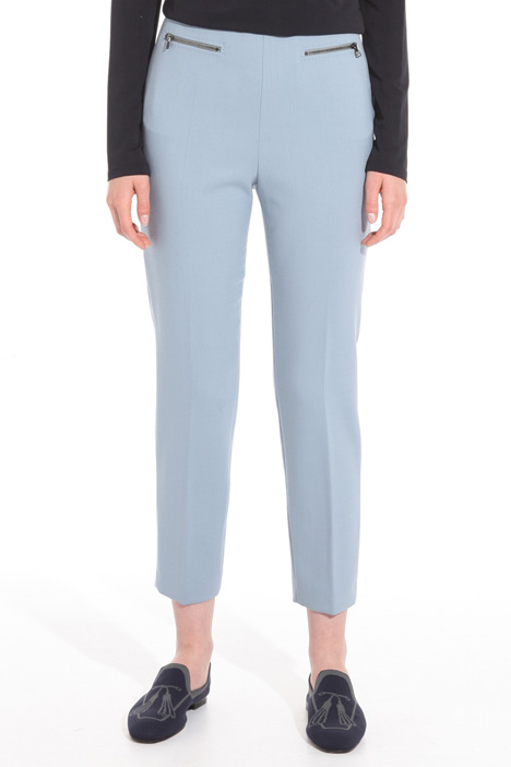 Wool crepe trousers Intrend