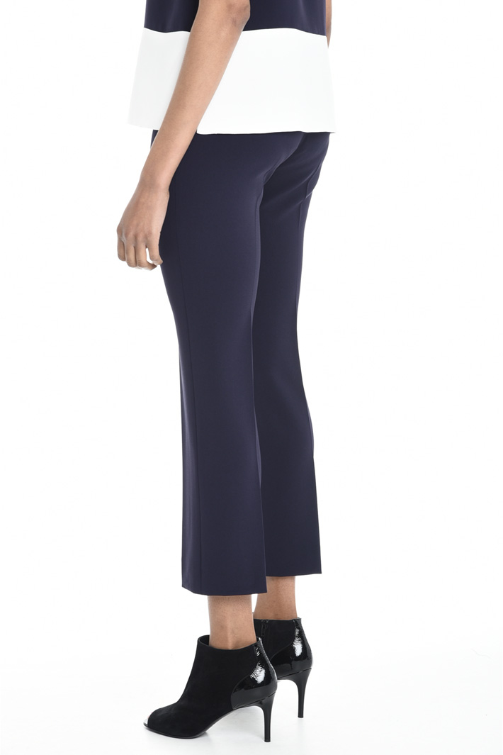 Trousers in cady fabric Intrend