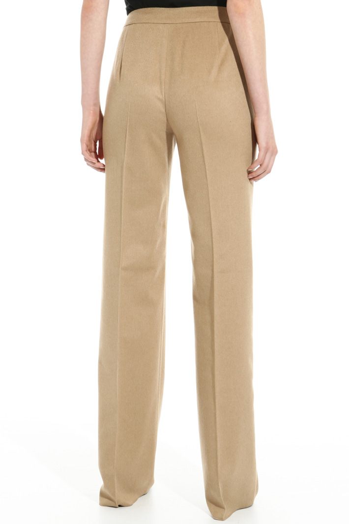 Camel drap trousers Intrend