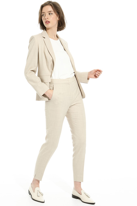 Fitted wool trousers Intrend