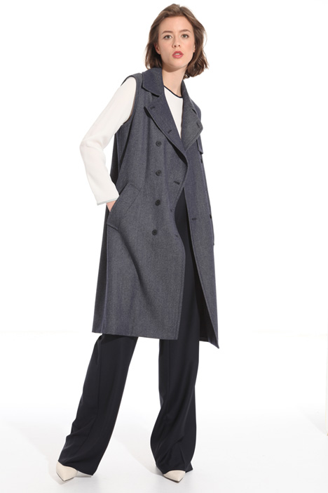 Virgin wool trench Intrend