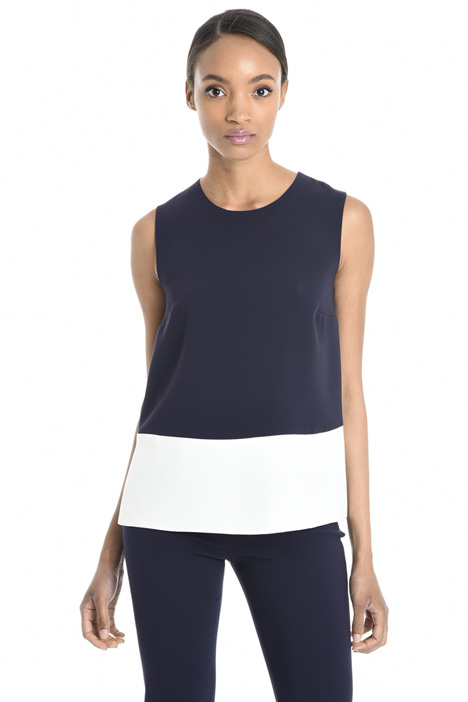 Boxy-fit triacetate top Intrend