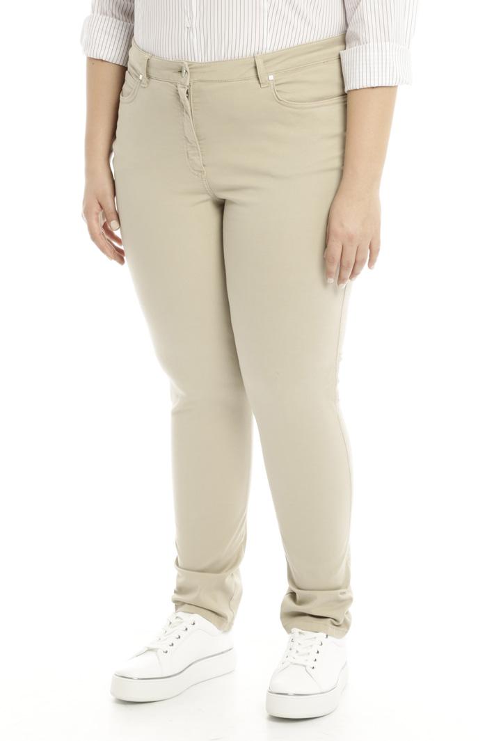 Pantalone in raso stretch Intrend