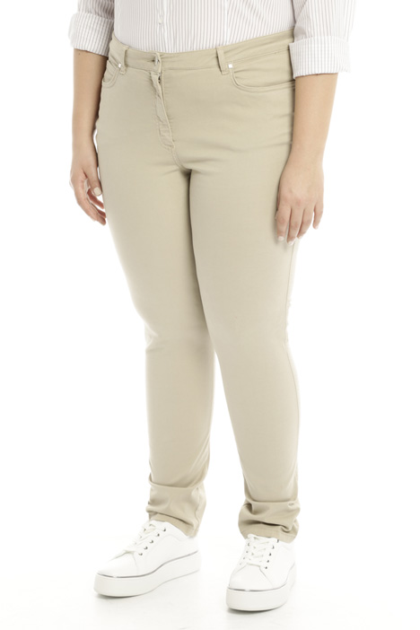 Pantalone in raso stretch Intrend