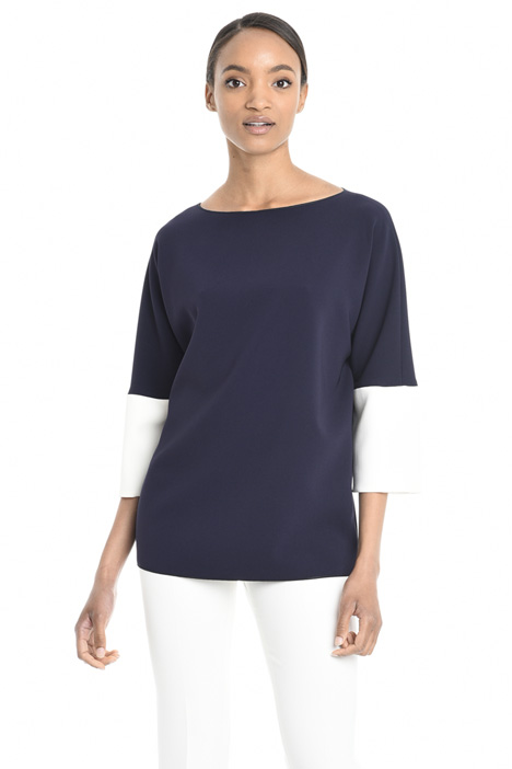 Blusa in cady di triacetato Intrend