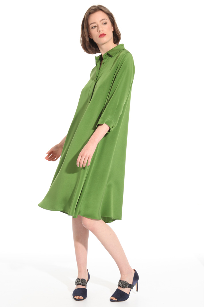 Silk crepe dress Intrend