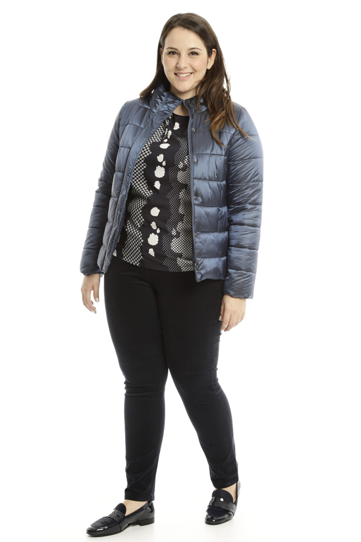 Fitted padded jacket Intrend