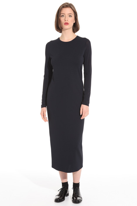 Crew neck jersey dress Intrend