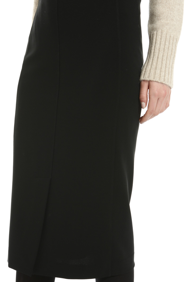 Compact jersey skirt Intrend
