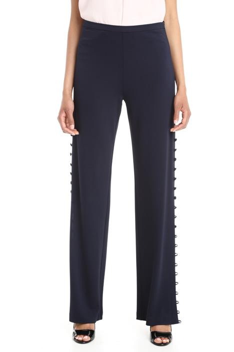 Side buttoned trousers Intrend