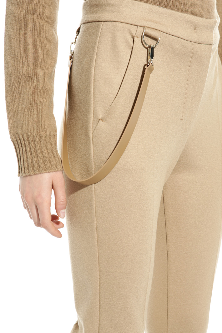 Wool jersey trousers Intrend