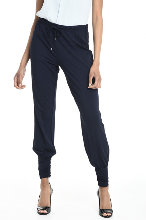 Viscose jogging-style trousers Intrend