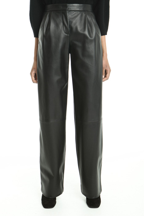 Jersey and leather trousers Intrend