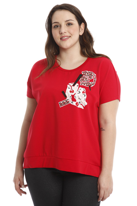 A-line cotton T-shirt Intrend