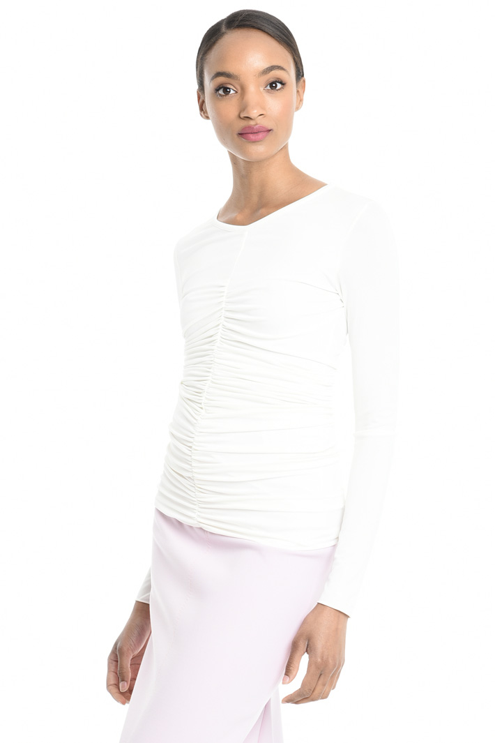 Top in jersey crepe Intrend