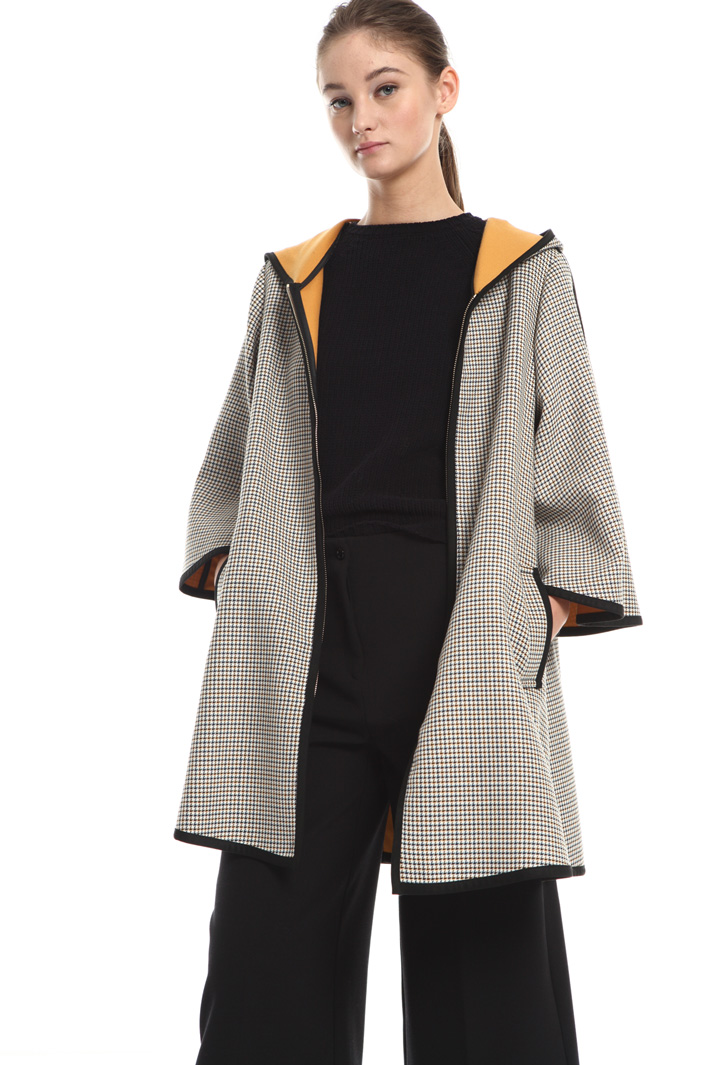 Cotton and wool blend jacket Intrend