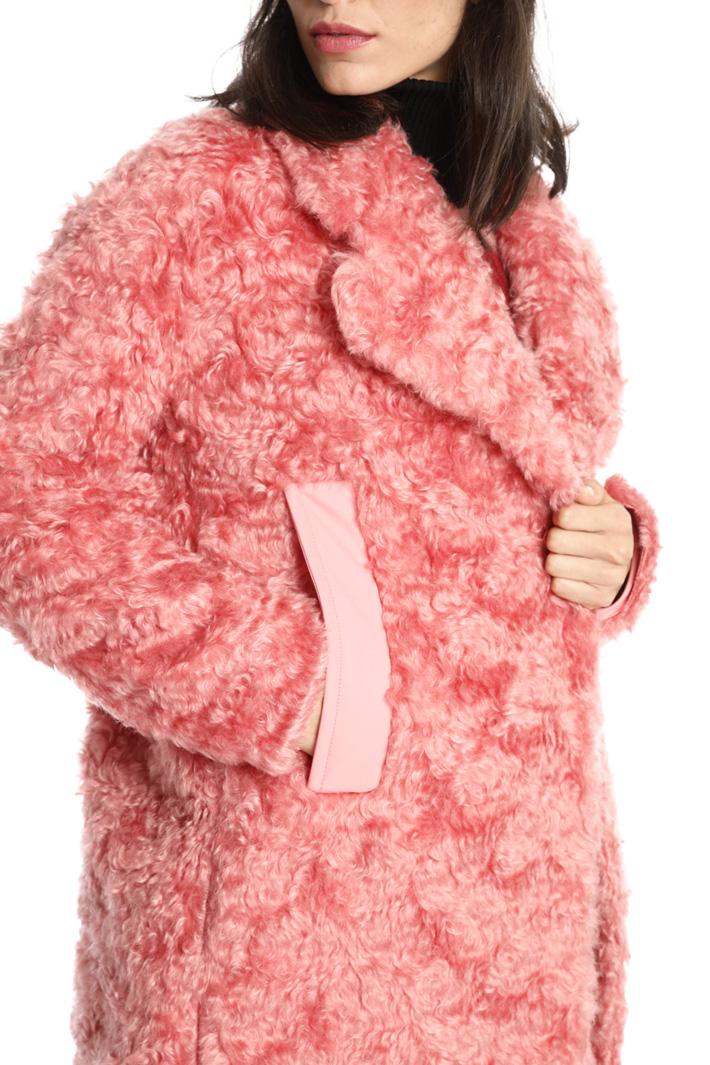 Cappotto effetto pelliccia Intrend
