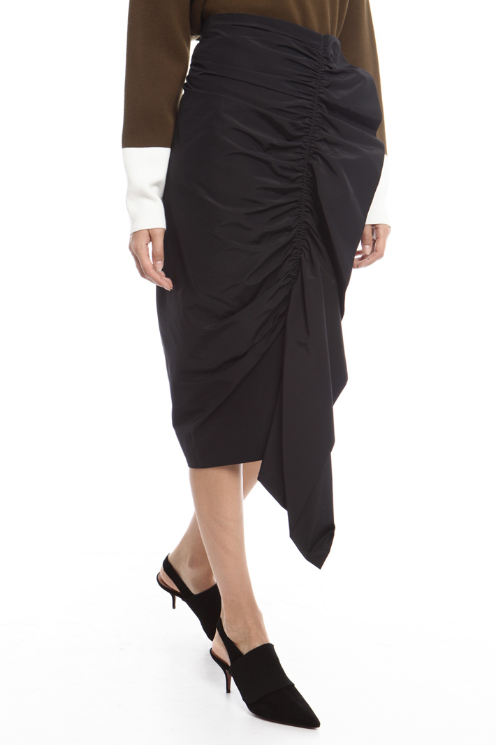 Longuette with maxi ruffles Intrend