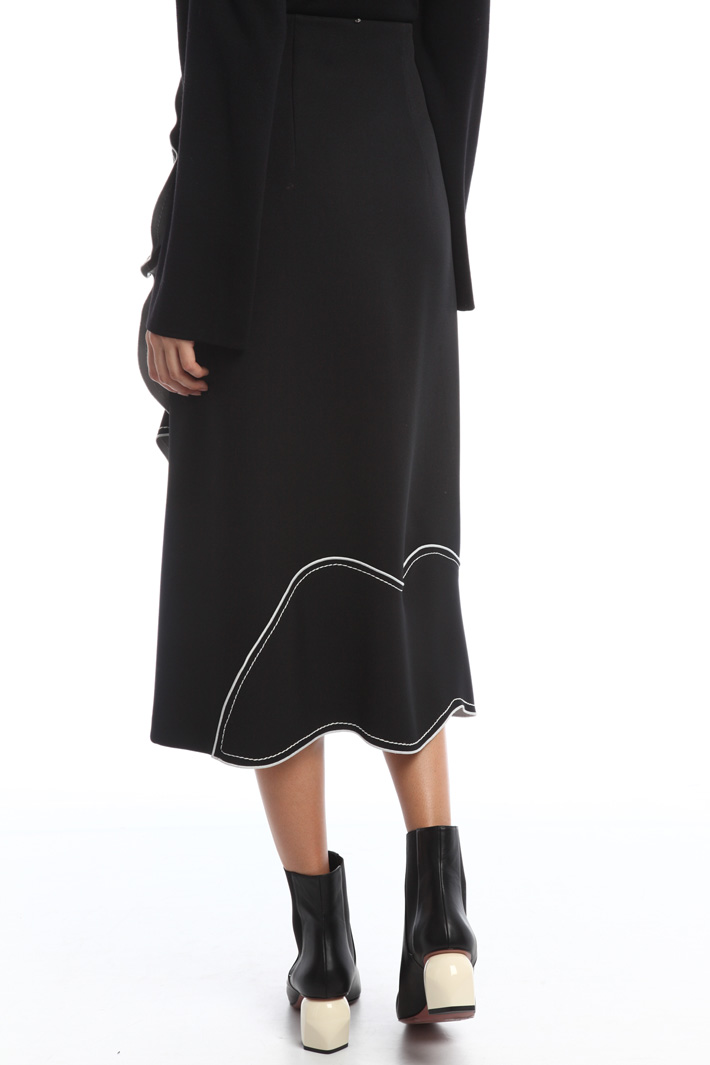 Flared cady skirt  Intrend