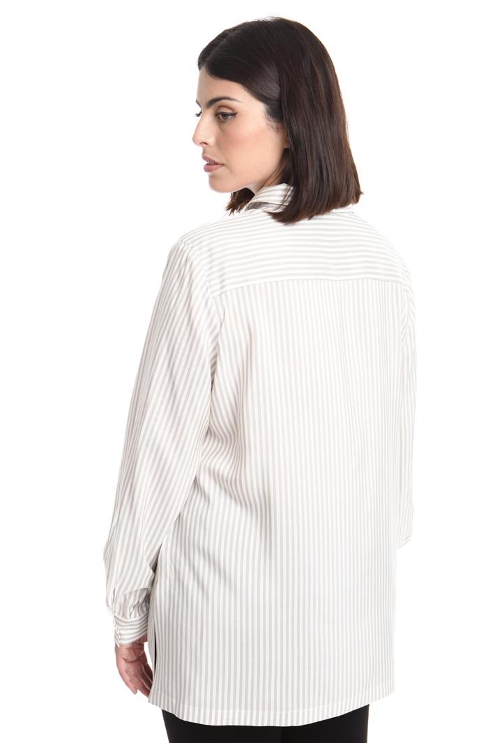 Camicia in popeline di seta Intrend