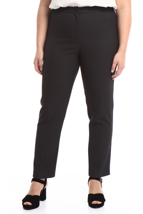 Pantalone in diagonale stretch Intrend