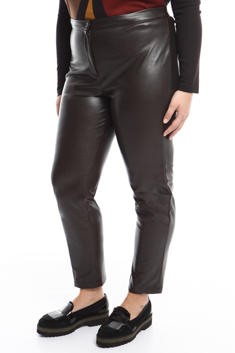 Pantalone in nappa stretch Intrend